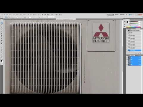 Part 2 - Making a material for an air conditioner