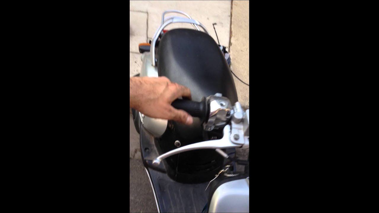 Scooter stalls when opening up throttle 2