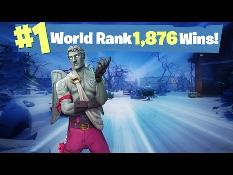 #1 World Ranked Road to 2,000 Solo Wins - GTX 1080TI and 20,000 vbucks giveaway