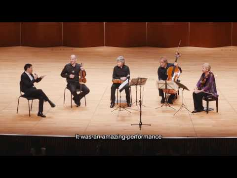 Music in Words - a dialogue with the Takács Quartet