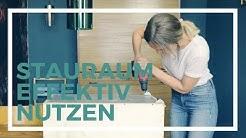 Abstellkammer effektiv nutzen   Stauraum Ideen   DIY   Jelena Weber