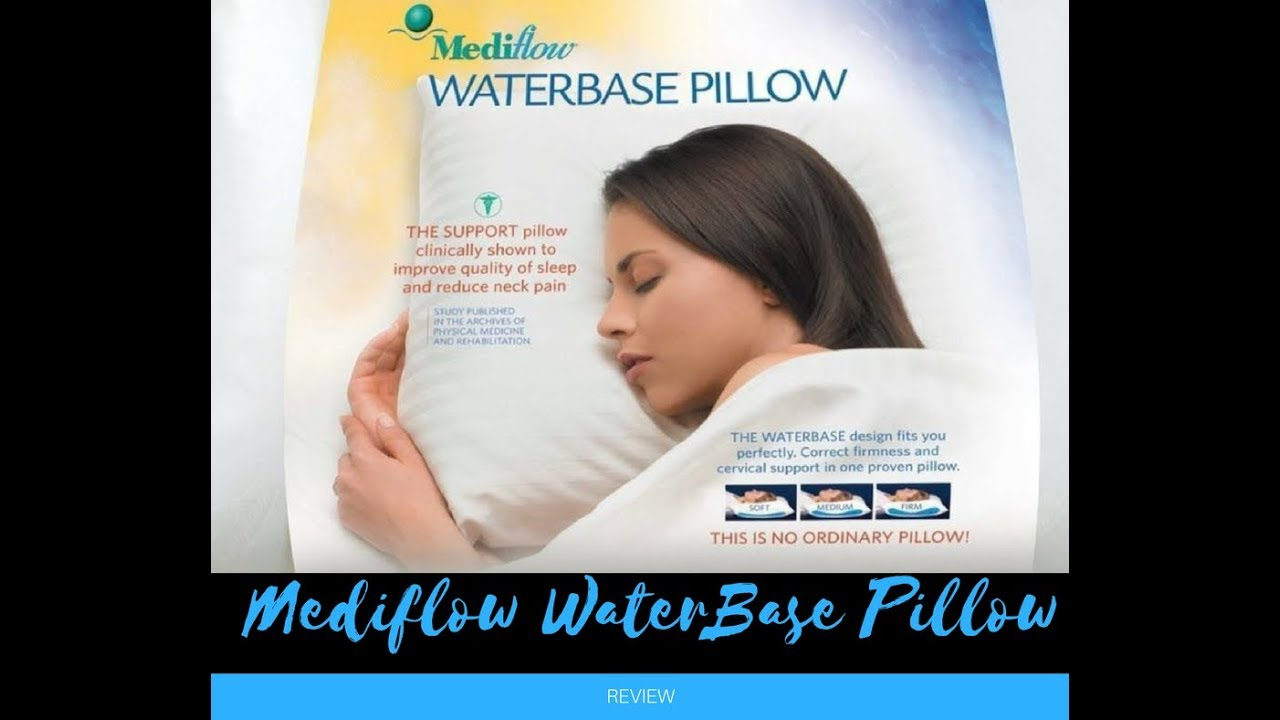 Mediflow Waterbase Pillow Review Unpackaging And Instructions Is This The Best Ever