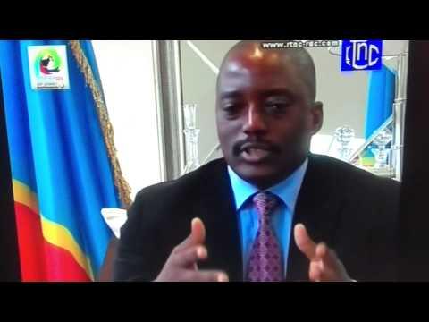 Integralité de l'interview de Joseph Kabila sur la RTNC le 20.11.2012