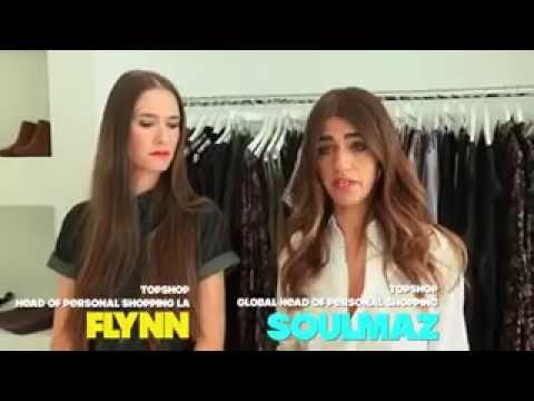 Soulmaz Vosough and Flynn Adams Topshop Interview