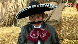 Chentito y su compadre Filegonio. El Gran Show de los Peques. Chentito, Mariana, Miguel y Jorge
