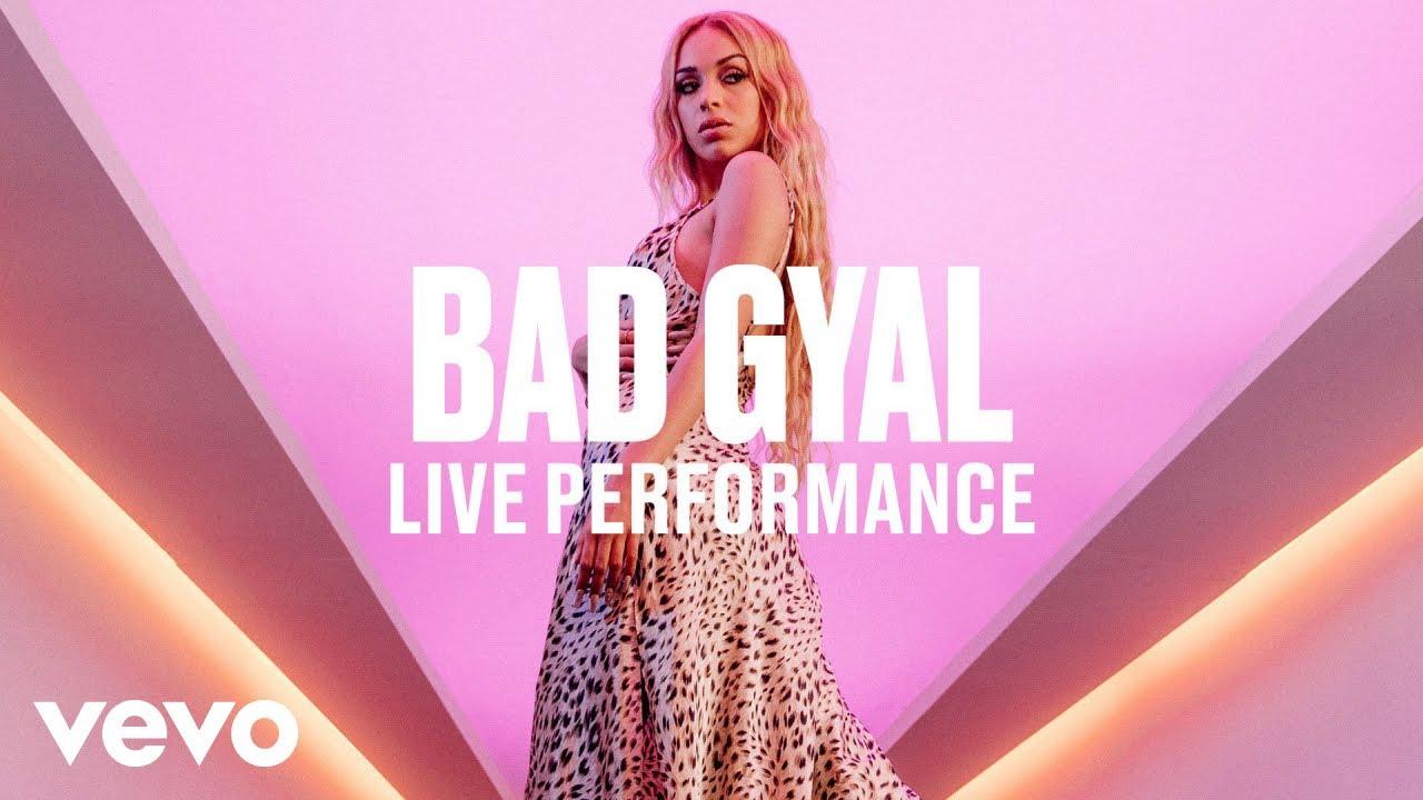 BAD GYAL - BAD GYAL - Internationally (Live) | Vevo DSCVR