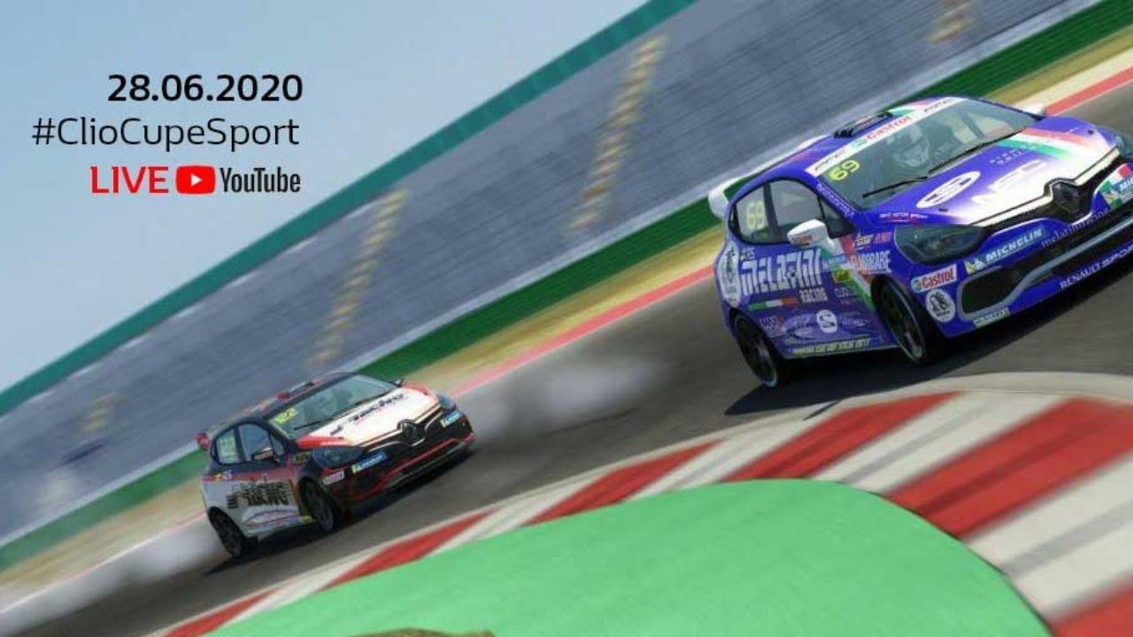 Clio Cup Italia eSport Series - Mugello