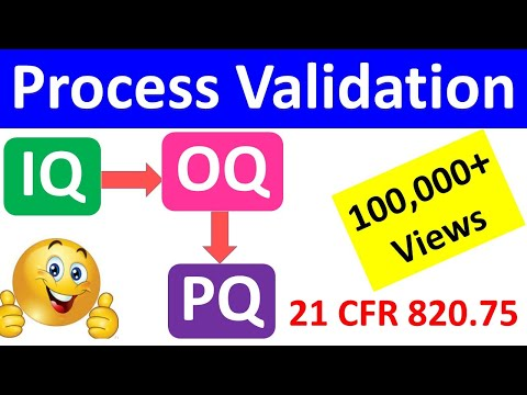 IQ OQ PQ | Process Validation | Equipment Validation | Equipment Qualification | Medical Devices