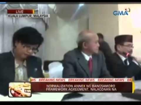 24 Oras:  Pinakahuling annex ng Bangsamoro Framework Agreement, nalagdaan na