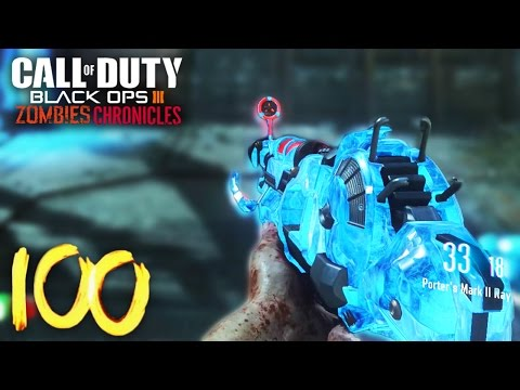 ORIGINS ROUND 60-100+ GAMEPLAY! - BLACK OPS 3 ZOMBIES CHRONICLES GAMEPLAY! (BO3 Zombies DLC 5)