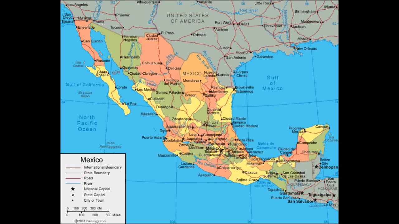 Maps Mexico Youtube