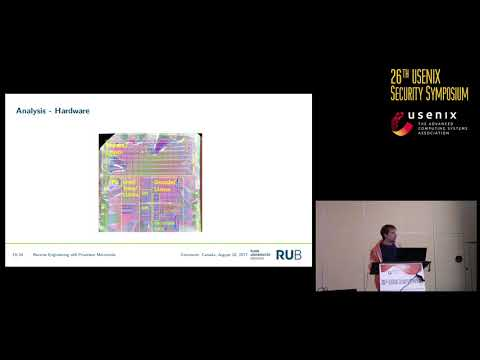 USENIX Security '17 - Reverse Engineering x86 Processor Microcode