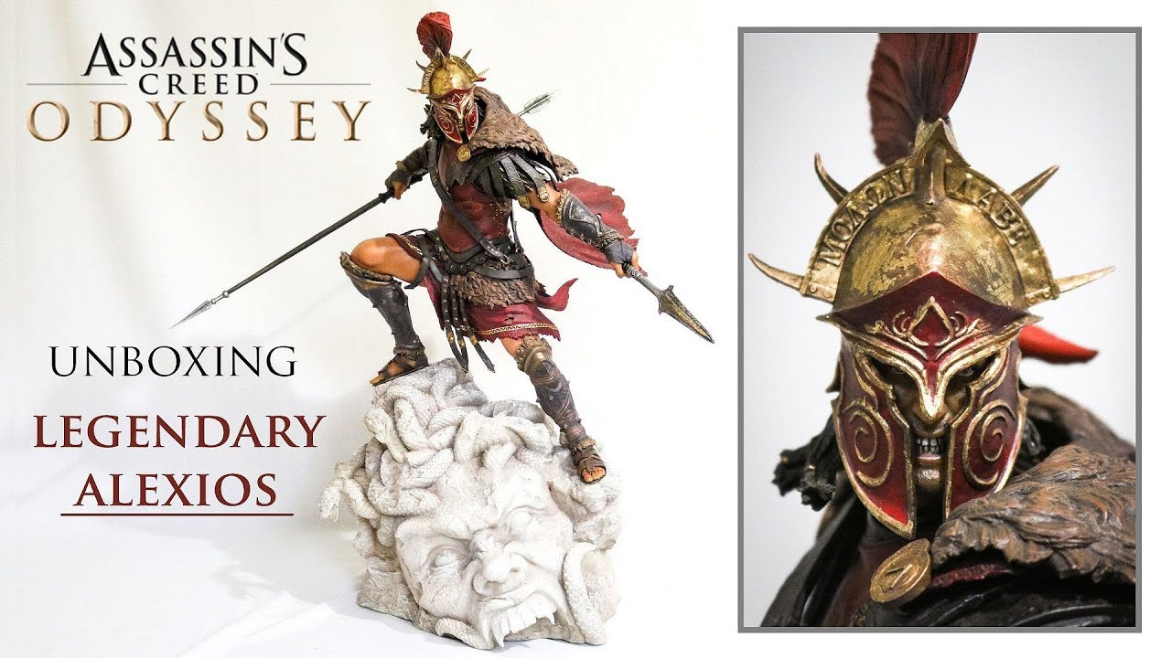 Assassin S Creed Odyssey Legendary Alexios Statue Unboxing