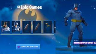 *NEW* FORTNITE X BATMAN EVENT! FREE REWARDS! (Fortnite Battle Royale)
