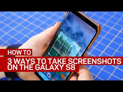 How do u screenshot on a samsung galaxy s8