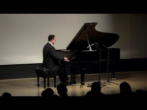 Jason Sia - Solo Piano Recital for the Crocker Art Museum Classical Concert Series  HD