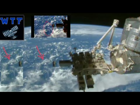 NASA ALIEN sighting live space feed,real life Extraterrestrial  2016