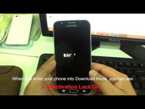Remove Samsung Account Samsung Galaxy S6 G920F Android 6 0 1 Marshmallow