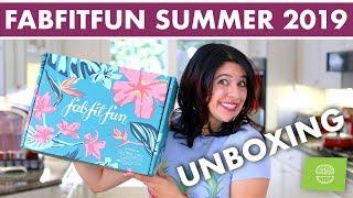FabFitFun Summer 2019 Unboxing | ULTIMATE Lifestyle Subscription Box!