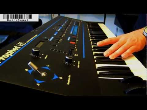 """Sequential Circuits Prophet VS Synthesizer """"The Year 1986"""""""