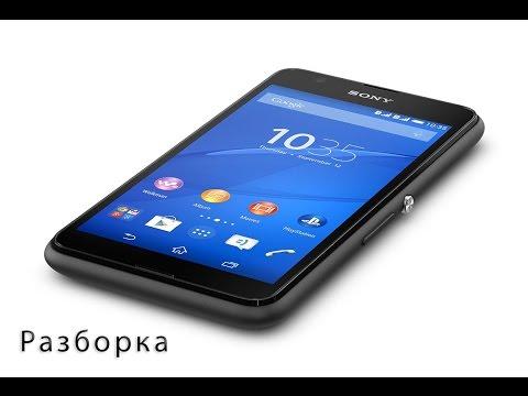 Разборка Sony Xperia E4g(E2003)   Disassembly Sony Xperia E4g(E2003)