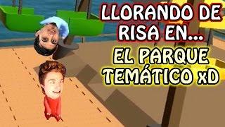 ¡VAMOS AL PARQUE DE DIVERSIONES! - (GANG BEASTS) thumbnail