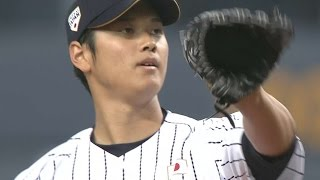 MLB@JPN: Ohtani hurls perfect inning of relief