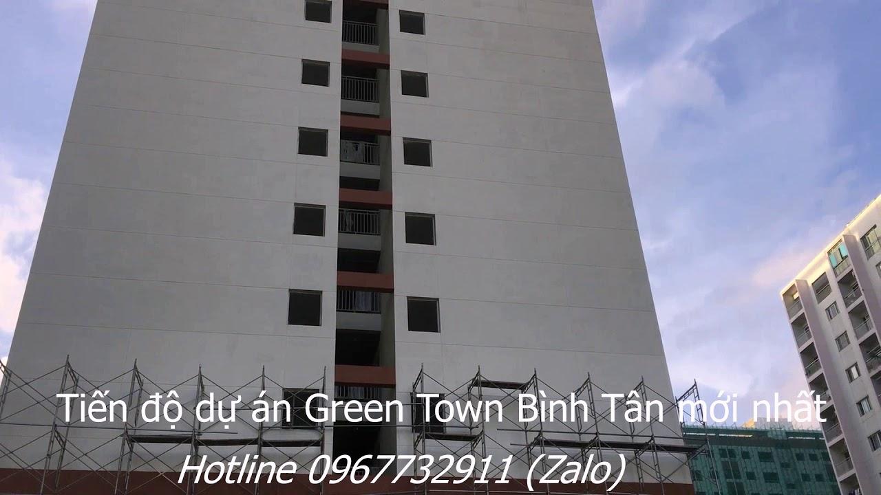 Tiến độ dự án Green Town Bình Tân mới nhất