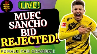 #ManchesterUnited Bid For Sancho REJECTED! |#MUFC Transfer News