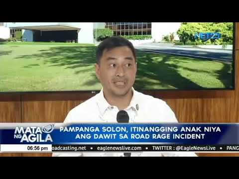 Nag viral na road rage incident na may plakang 8, nais paimb