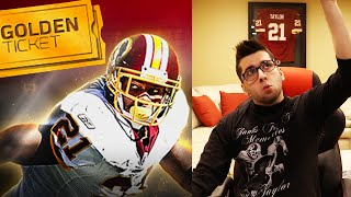 The Greatest Pack Opening of My life! Golden Ticket Sean Taylor