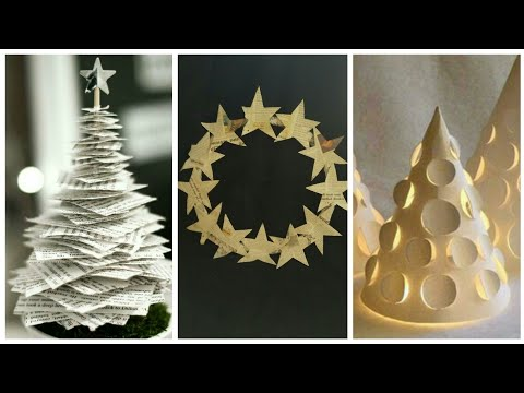 3 Christmas Decoration ideas at Home || DIY amazing Handmade Crafts