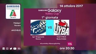 Novara - Busto Arsizio | Speciale | 1^ Giornata | Samsung Galaxy Volley Cup 2017/18