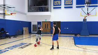Breanna Stewart worktout with NBA Coach David Nurse
