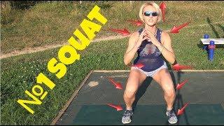 Squat Butt.  Приседания, которые моделируют. Подготовка к тренингу #ЯСуперпопа