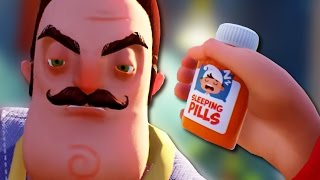 DRUGGING AND SHOOTING MY NEIGHBOR - Hello Neighbor