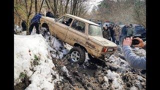 МегаЗАЗ-Zalu@aZ 4x4 РВЕТ ледяную ТАНКОВУЮ ДОРОГУ Off road