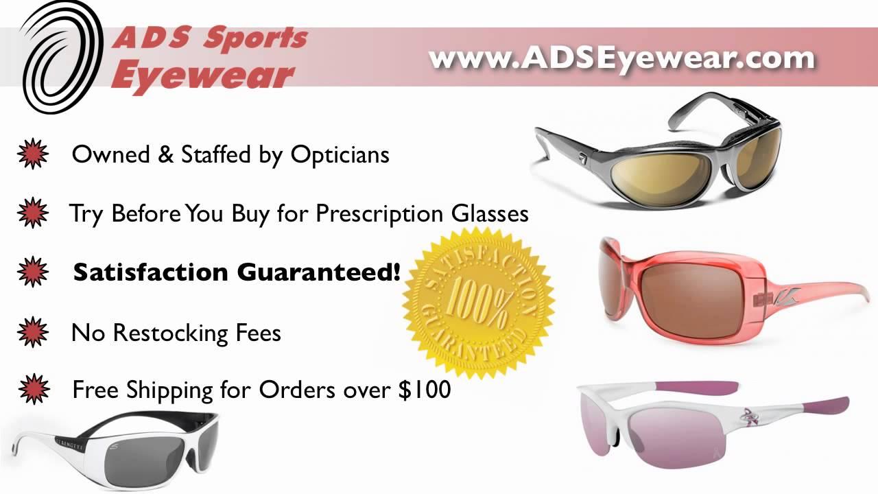 028b85a153 ADS Sports Eyewear - Prescription Sports Sunglasses with Free Shipping