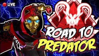 Apex Legends RANKED ROAD TO PREDATOR/PUBS live stream