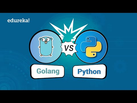 Go vs Python Comparison | Which Language You Should Learn In 2018? | Edureka thumbnail