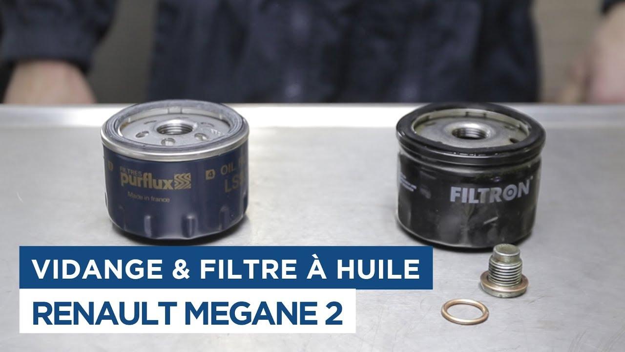 Filtre à Huile-Renault Megane II 1.6