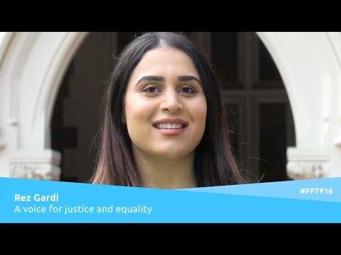 Rez Gardi - from Refugee Camp to Lawyer
