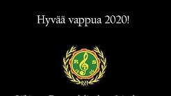 Riihimäen työväenyhdistyksen soittokunnan virtuaalinen vappumarssi 2020!