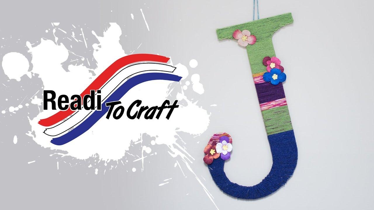 Readi to Craft: Yarn Monogram