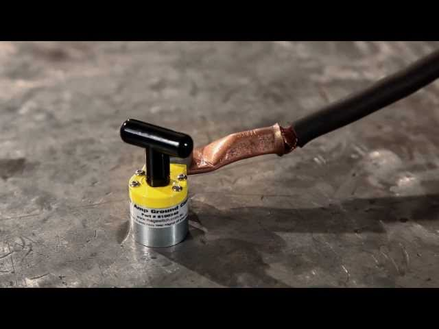 Magnetic Welding 200 amp Ground Clamp | Magswitch Technology