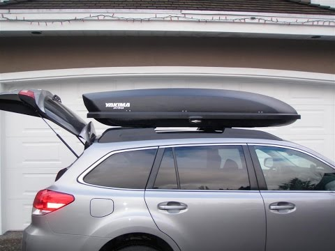 How To Hang Or Store Yakima Cargo Box Or Thule Roof Box