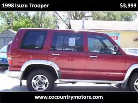 1998 Isuzu Trooper Used Cars Colorado Springs CO