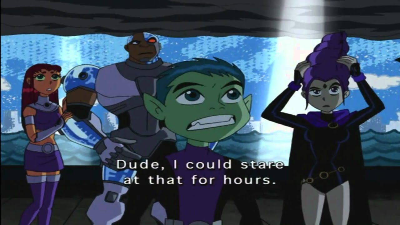 Teen Titans Bb Not Talking Backwards In Fractured Lol -8223