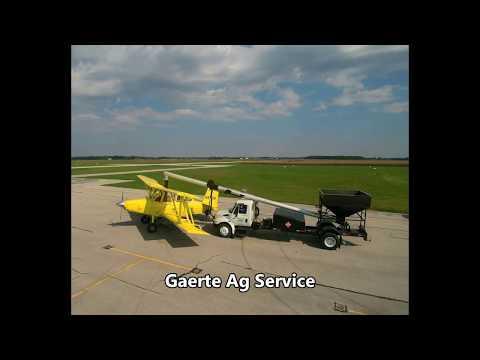 Gaerte Ag Service cover crop seeding  NW Ohio