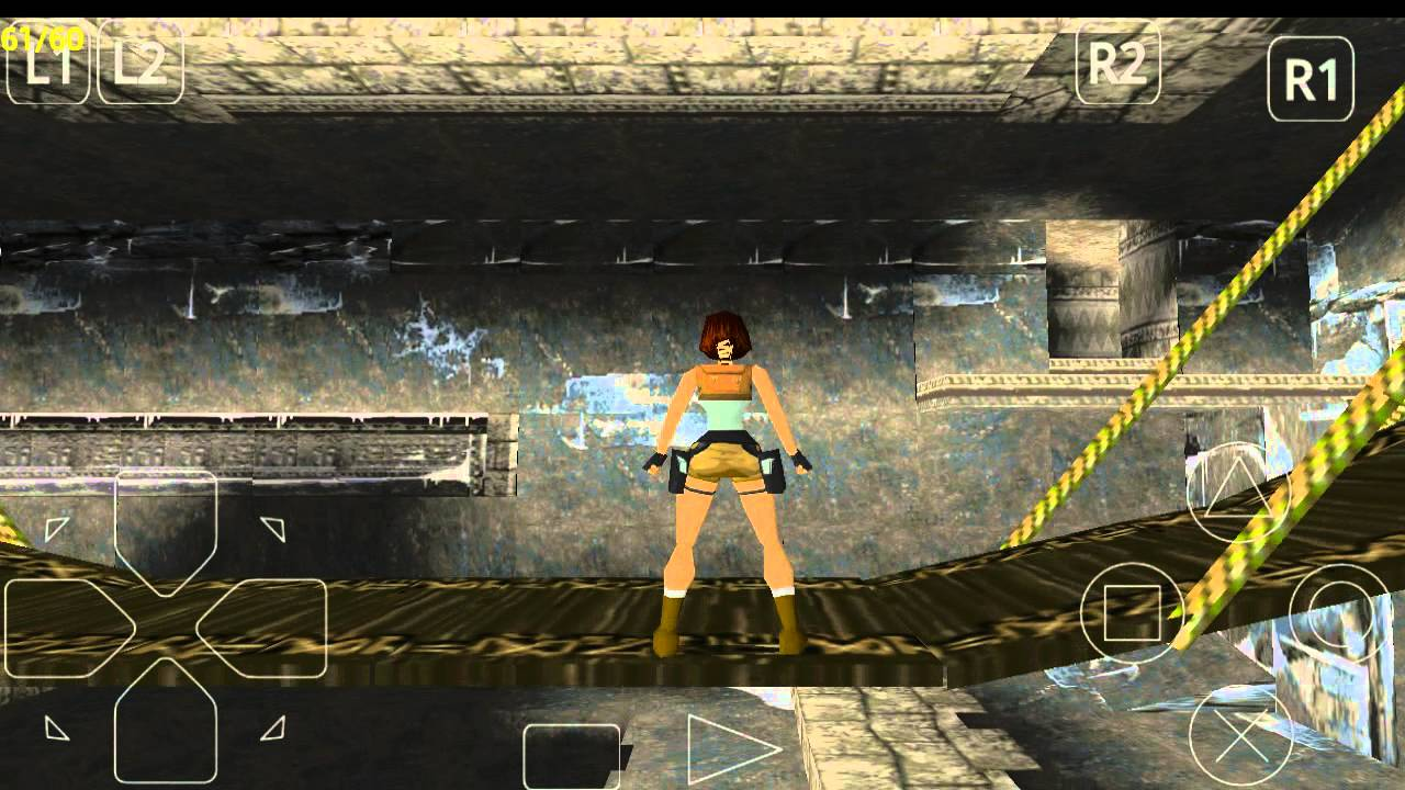 Original Tomb Raider 1 Android Gameplay Hd Upscaled Youtube